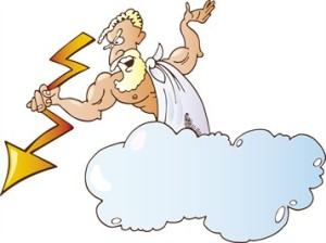 God's thunderbolt